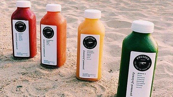 juices on the beach